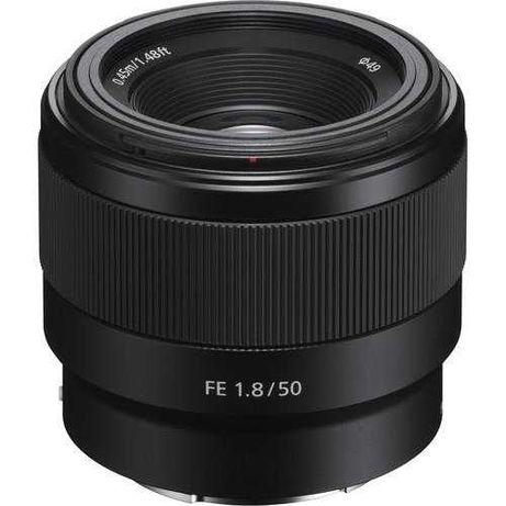 Sony FE 50mm 1.8 Nova Garantia 2 anos