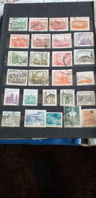 Znaczki pocztowe sprzedam