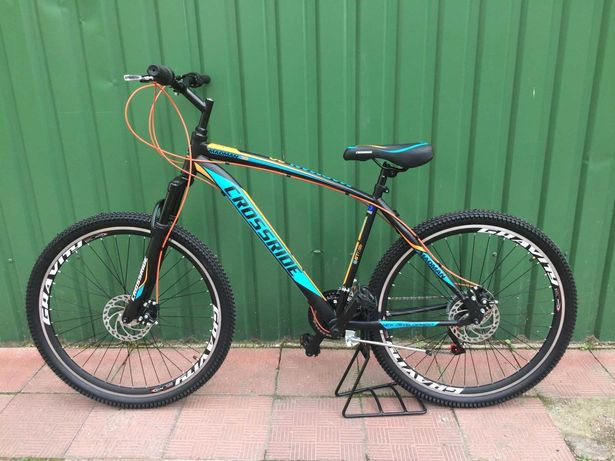 Велосипед Crossride Spider 27.5 рама-17,Вело,Велосипед Спортивний