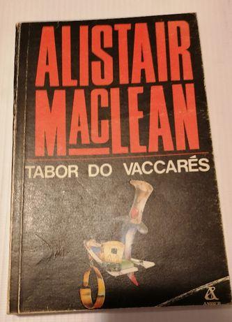 Alistair McLean książka akcji Tabor do Vaccares