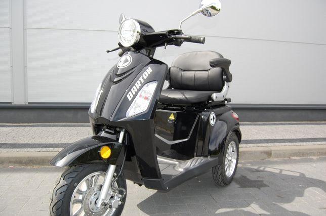 Skuter wózek inwalidzki Elektryczny Trójkołowy Barton Tres Raty 0 %