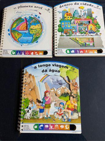 Coleção livros didáticos criança
