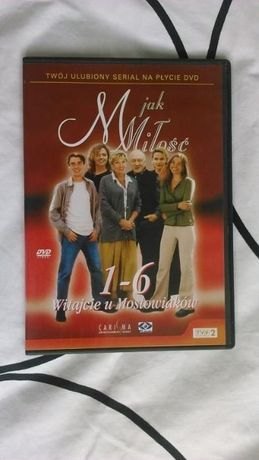 M jak miłość - płyta DVD