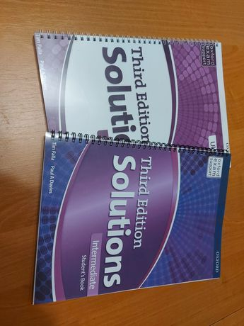 Solutions 3d Ed. Друк книг, друк підручників, печать книг, учебников