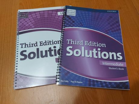 Solutions 3d Ed. Нове видання. Друк печать книг