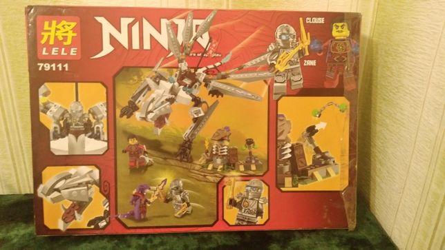 LEGO Ninjago Титановый дракон Зейна