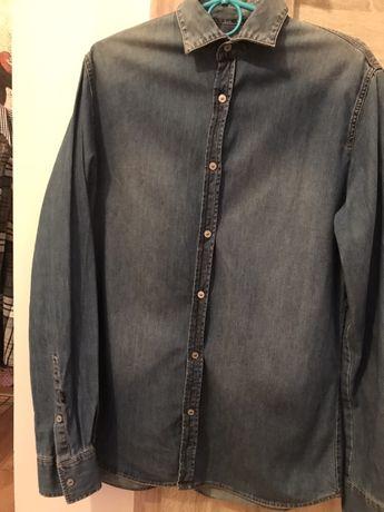 Koszula jeans, jensowa