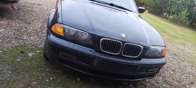 BMW E46 Maska sedan Touring Schwarz 2