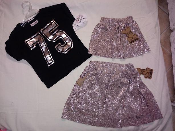 Spódniczki dziewczęce nowe
