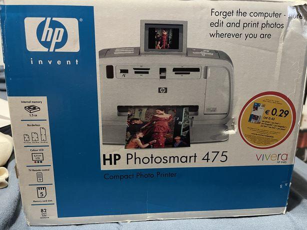 Impressora hp photosmart 475