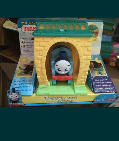 Nowe zabawki my first tomek i przyjaciele śpiewa projektor