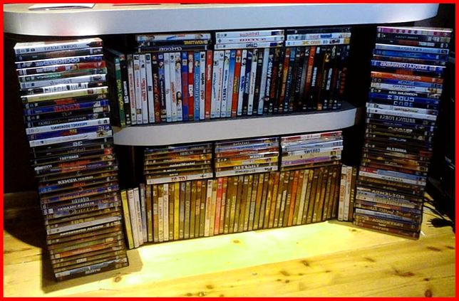 KOLEKCJA Płyt DVD Oryginalne Filmy Seriale USA VCD Zagraniczne Zamiana