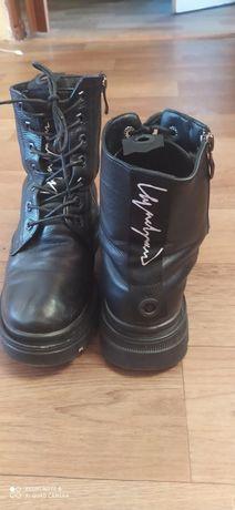 Ботинки кожаные зимние 38 размер