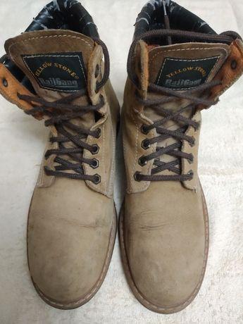 Ботинки для работы кожаные Rail Gang