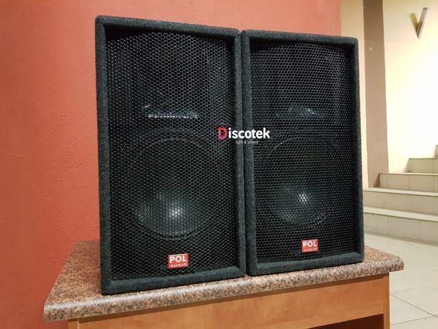 2 x Pol-Audio SAT110-300ND 300/600W 8ohm, nowe: 5400 zł