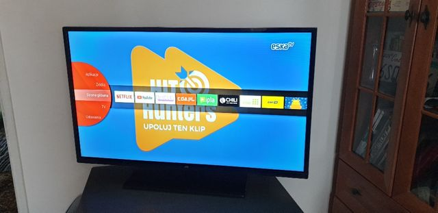 TV JVC 40' Smart Led Full HD. Możliwa zamiana na smartfona