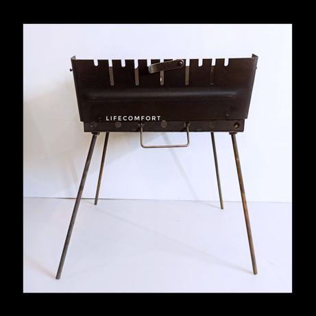 Мангал - чемодан, складной компактный толщина 2мм (3мм)