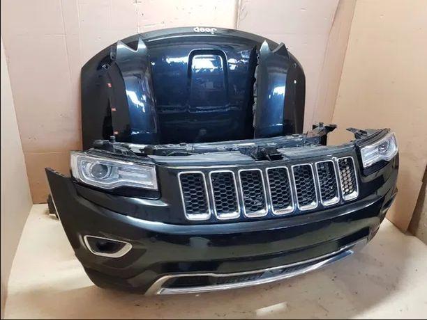 jeep grand cherokee mk2 фара бампер капот крыло дверь акпп двигатель