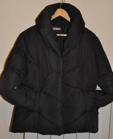 kurtka czarna DENIM 42
