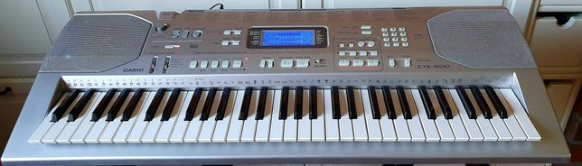 Keyboard Casio, USB, Dynamiczna klawiatura, Ekran, Mikrofon