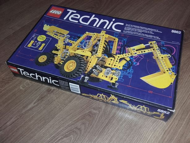 Lego Technic 8862 - Backhoe - rok 1989 - Rarytas!!!