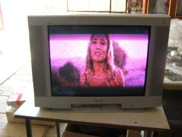 Кинескопный tv Sony KV-XR29M80 слабый кинескоп