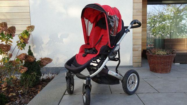 Wózek dziecięcy 3 w 1 firmy Espiro GTX. Gratis parasolka, Buggy Board