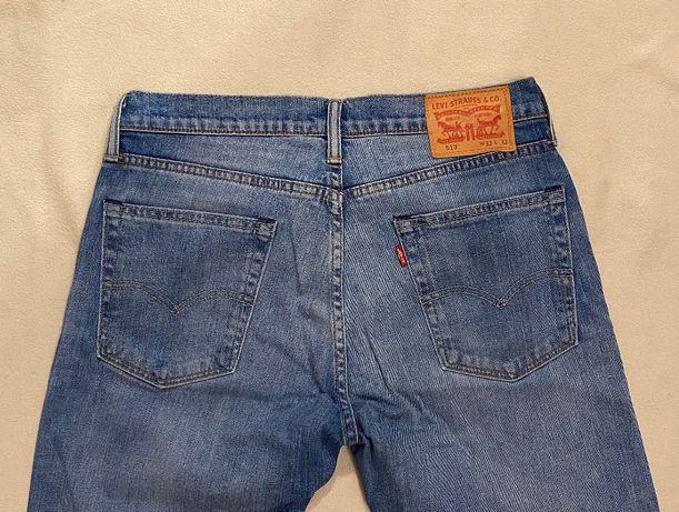 Levi's 513 W32 L32 jeasny spodnie męskie M L slim fit