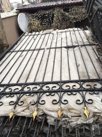 Продам забор металлический кованый.Секции заборные
