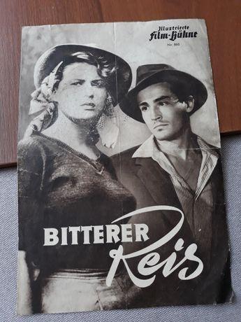 Ulotka filmu włoskiego z 1948 r. Plakat