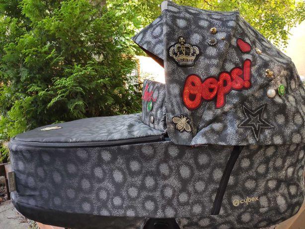 Люлька Cybex Priam Lux Rebellious + рюкзак в подарок