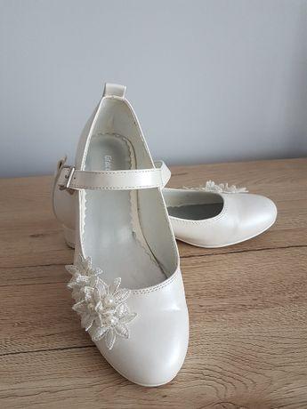 Zjawiskowe buty komunia, wesele i inne okazje r. 34 - jak nowe