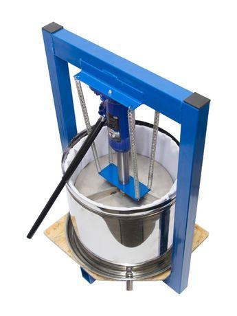 Пресс для сока винограда, яблок. 25 л, Нержавейка. Домкрат 5 т.