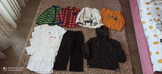 Пакет одежды на мальчика р. 110-116