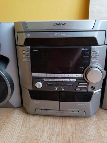 Wieza Sony-radio,kasety i cd