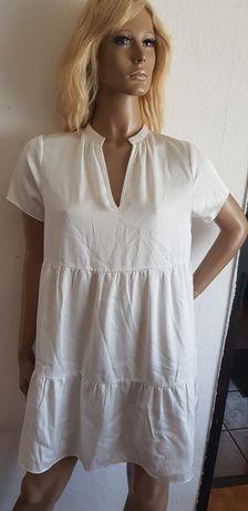Boho Sukienka Biała