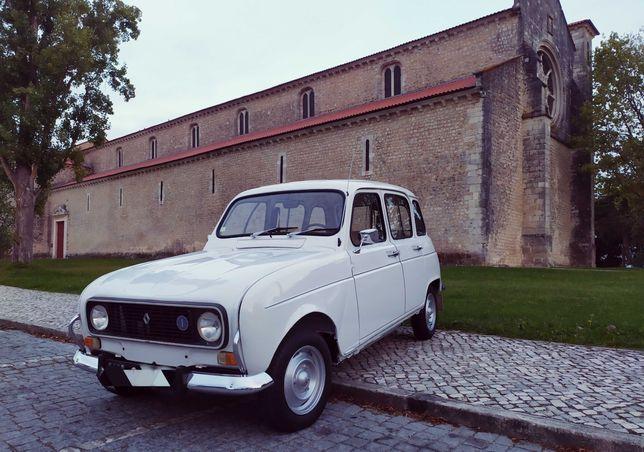 Aluguer de carro para casamentos e outros eventos – Renault 4L 1976