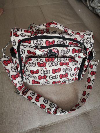 Сумка-рюкзак для мамы ju ju be B.F.F. hello kitty, на коляску.