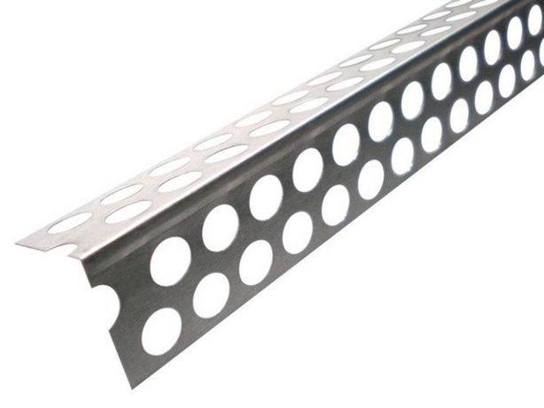 Narożnik Aluminiowy Perforowany LUX SZEROKIE GRUBE MOCNE 2,5m