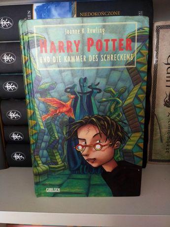 Harry Potter und die kammer des schreckens Rowling po niemiecku