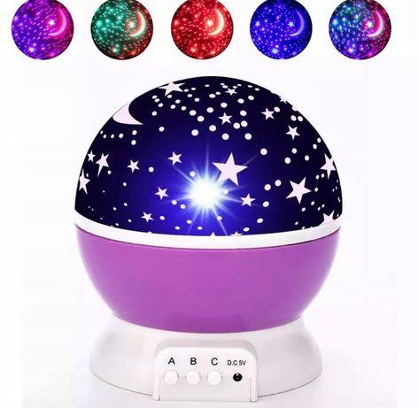 Lampka Nocna Kula Projektor Gwiazd Star Master