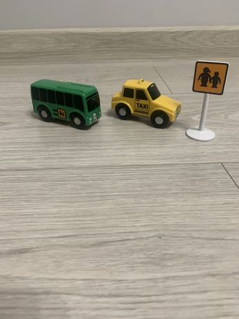 Zestaw dodatkowych aut play tive junior