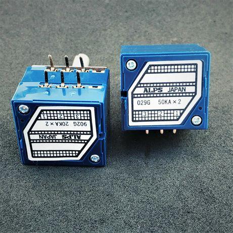 Продам оригинальные потенциометры ALPS RK27 10к 20к 50к 100к