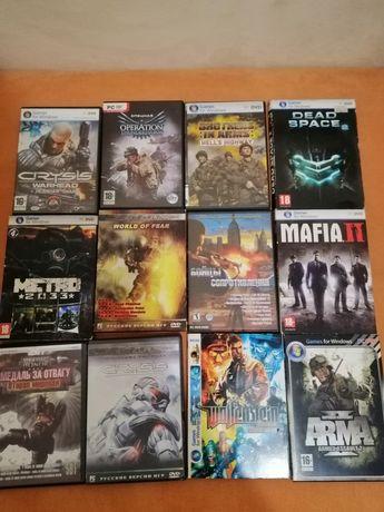 Продам 43 диска с играми