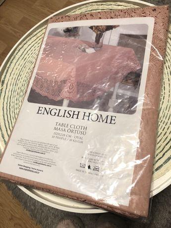 Скатерть ПВХ English home новая