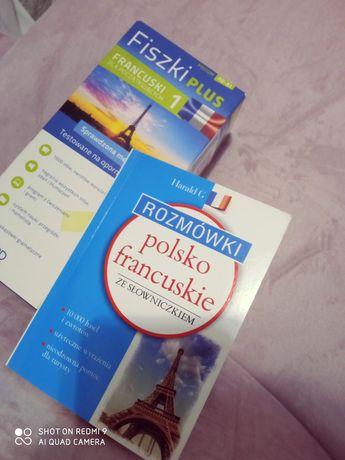 fiszki plus francuski dla początkujących 1 +rozmówki polsko-francuskie