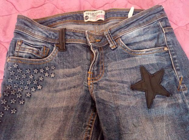 джинсы женские зауженные