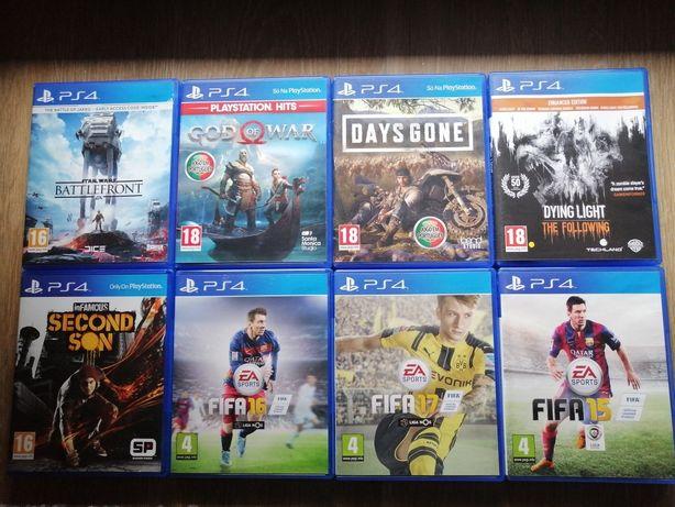 Vendo/Troco Jogos Playstation 4 ps4