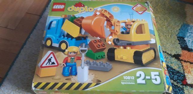 Klocki Lego Duplo budowa koparka, wywrotka, 10812, 2-5 lat kom4pletne