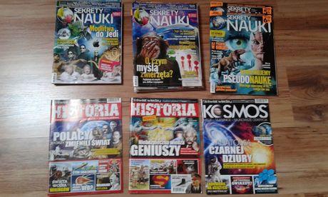 sekrety nauki, kosmos, historia od 2012 do 2017